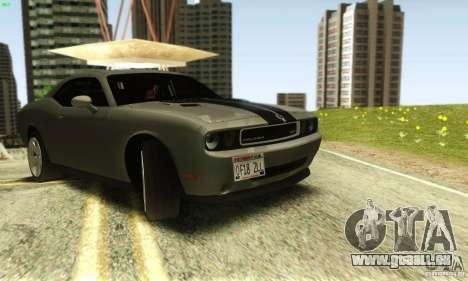 Dodge Challenger SRT-8 für GTA San Andreas rechten Ansicht