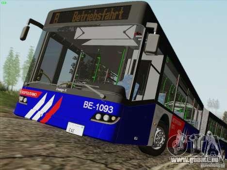 Design X3 pour GTA San Andreas vue de côté