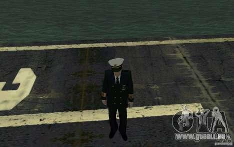 Admiral HD pour GTA San Andreas deuxième écran