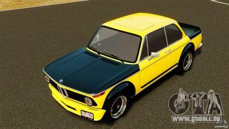 BMW 2002 Turbo 1973 für GTA 4 Innenansicht