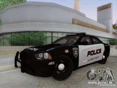 Dodge Charger 2012 Police für GTA San Andreas Innenansicht