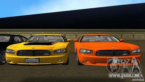 Dodge Charger RT für GTA Vice City Innenansicht