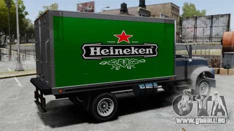 Die neue Werbung für LKW Yankee für GTA 4 Innenansicht