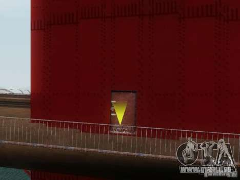 Escalade le Golden Gate Bridge pour GTA San Andreas troisième écran
