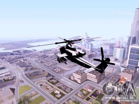 AH-1Z Viper pour GTA San Andreas sur la vue arrière gauche