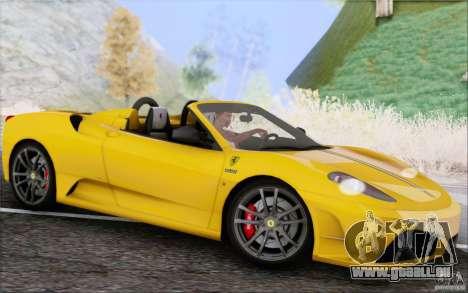 Ferrari F430 Scuderia Spider 16M für GTA San Andreas Seitenansicht