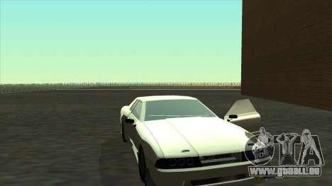 Elegy Roportuance pour GTA San Andreas sur la vue arrière gauche