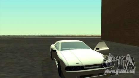 Elegy Roportuance für GTA San Andreas zurück linke Ansicht