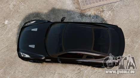 Nissan GT-R Black Edition (R35) 2012 pour GTA 4 est un droit