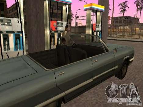 Beschäftigt Tankstelle in Los Santos für GTA San Andreas her Screenshot