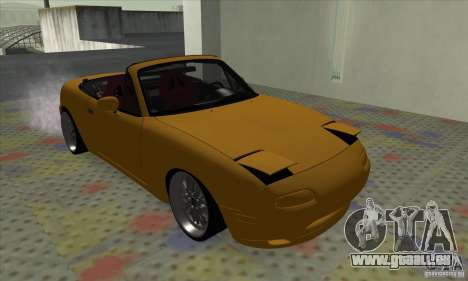Mazda MX-5 für GTA San Andreas zurück linke Ansicht