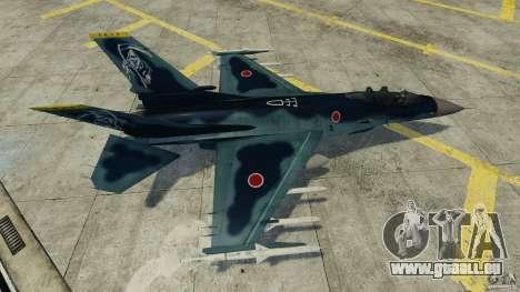 Fighterjet für GTA 4 Rückansicht