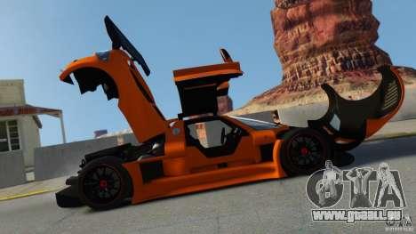Gumpert Apollo Sport 2011 v2.0 pour GTA 4 est une gauche