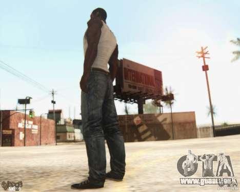 New CJ pour GTA San Andreas troisième écran