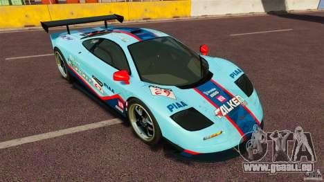 McLaren F1 pour GTA 4 est une gauche