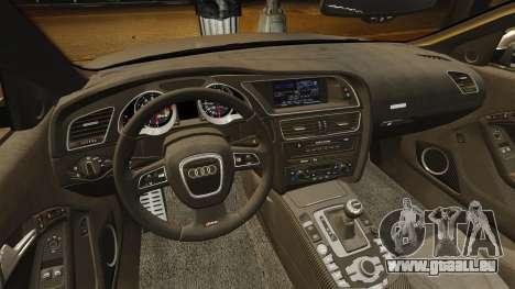 Audi RS5 2012 pour GTA 4 est un côté