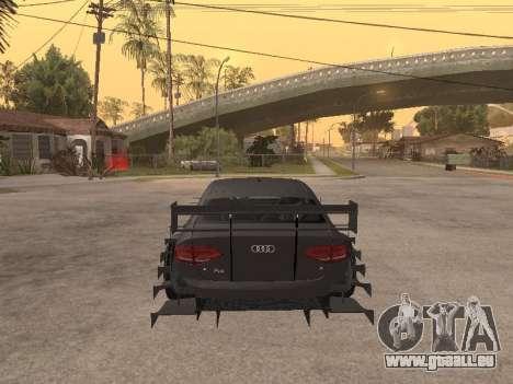 Audi A4 Touring pour GTA San Andreas vue de droite