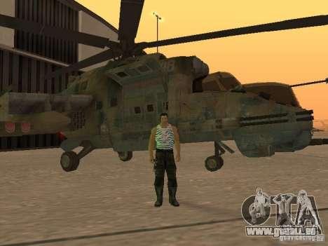 Mi-24p für GTA San Andreas