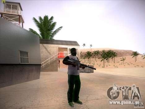 M4 Close Quarters Combat pour GTA San Andreas quatrième écran