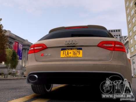 Audi RS4 Avant 2013 für GTA 4 rechte Ansicht