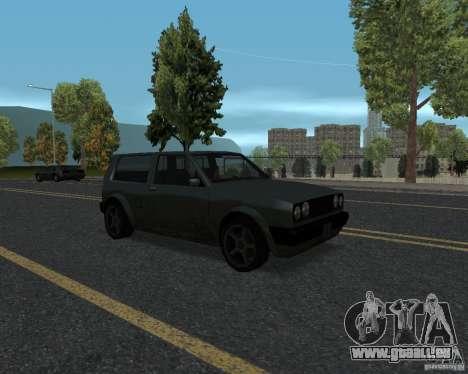 Nouvelles textures route pour GTA UNITED pour GTA San Andreas cinquième écran