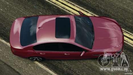 BMW M5 2012 pour GTA 4 est un droit