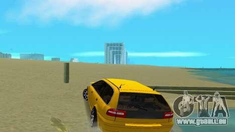 VOLVO V40 pour une vue GTA Vice City de la droite