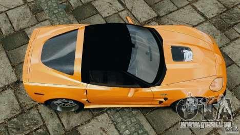 Chevrolet Corvette ZR1 pour GTA 4 est un côté