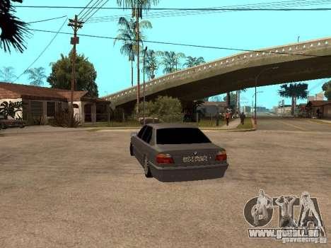 BMW 750i für GTA San Andreas rechten Ansicht