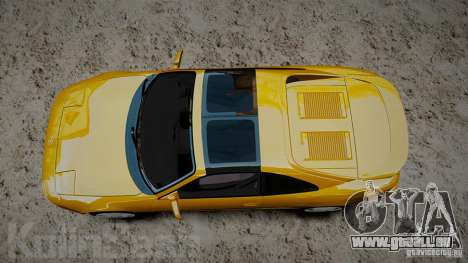 Toyota MR2 GT [EPM] pour GTA 4 Vue arrière de la gauche