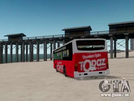 Daewoo BC211MA Baku für GTA 4 Seitenansicht