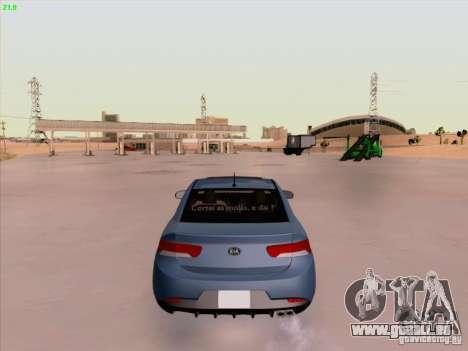 Kia Cerato Coupe 2011 für GTA San Andreas Seitenansicht