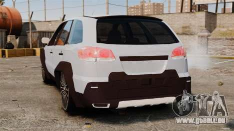 Fiat Palio Adventure Locker Evolution für GTA 4 hinten links Ansicht