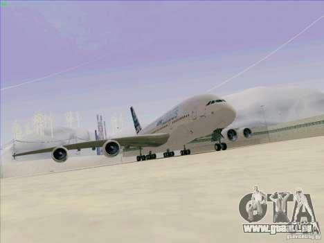 Airbus A380-800 für GTA San Andreas