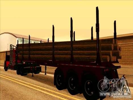 Anhänger, Western Star Trucks 4900 für GTA San Andreas rechten Ansicht