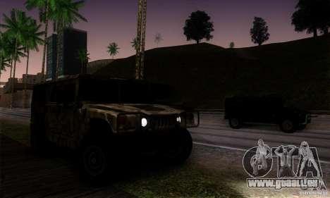 Hummer H1 für GTA San Andreas Seitenansicht