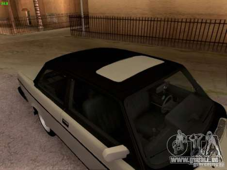 Volvo 242 Turbo pour GTA San Andreas vue de droite