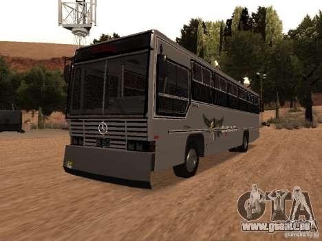 Mercedes Benz SWAT Bus pour GTA San Andreas