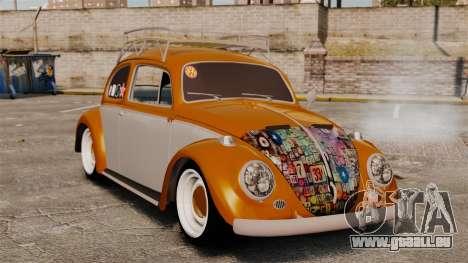 Volkswagen Fusca Edit für GTA 4