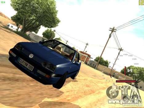 Volkswagen Golf MK3 Cabrio 1993 pour GTA San Andreas laissé vue