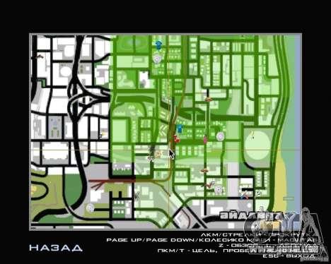Nouveau HUD pour GTA San Andreas troisième écran
