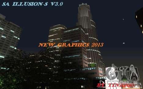 SA Illusion-S V3.0 für GTA San Andreas