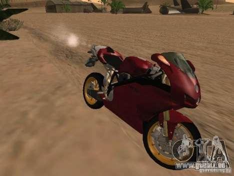 Ducati 999R für GTA San Andreas Innenansicht