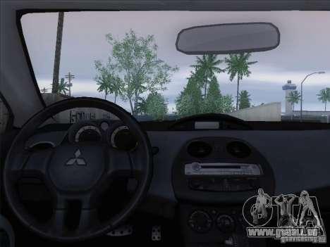 Mitsubishi Eclipse GT V6 pour GTA San Andreas salon