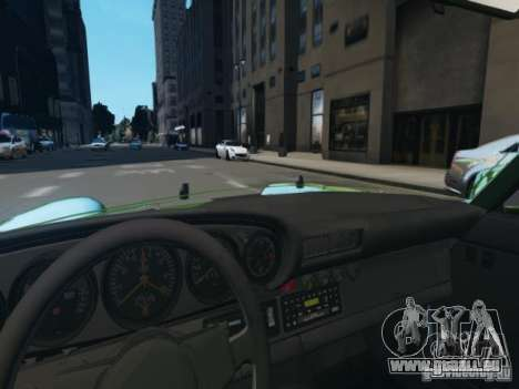 Porsche 911 Turbo RWB Pandora One Beta pour GTA 4 vue de dessus