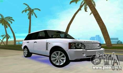 Land Rover Range Rover Supercharged 2008 pour GTA Vice City vue latérale