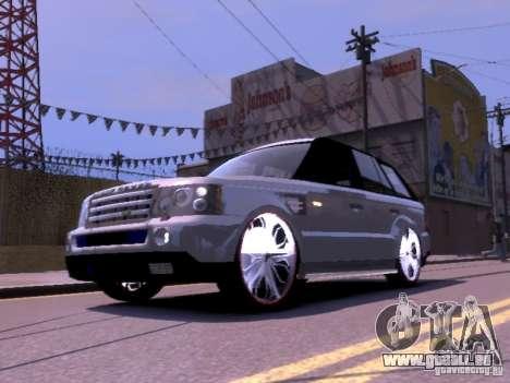 Range Rover DUB 2.0 pour GTA 4 est une gauche