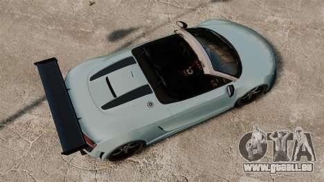 Audi R8 Spider Body Kit für GTA 4 rechte Ansicht