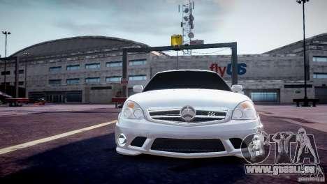 LADA Priora 2170 AMG pour GTA 4 Vue arrière