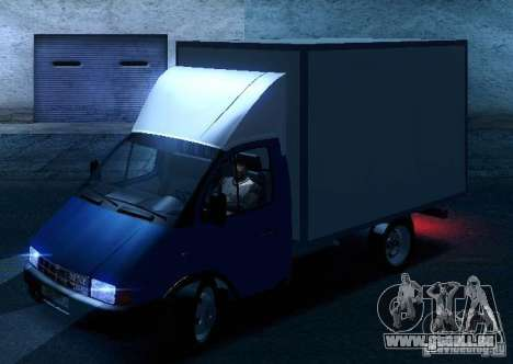 Gazelle 33021 pour GTA San Andreas roue